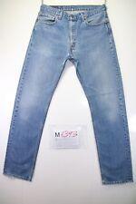 Levi's 506 Boyfriend (Cod. M1393) tg50 W36 L34 jeans usato vintage ORIGINALE