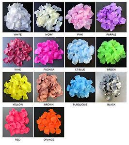 ROSE PETAL-100/PK, PREMIUM QUALITY, Wedding Party Decoration Silk Rose Petal.