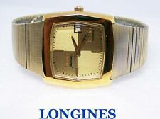 14k Gold Plated LONGINES 5 Star ADMIRAL Mens AUTOMATIC DATE Watch* EXLNT Cond