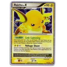RAICHU LV.X 99/100 Ultra Rare EX Holo Foil STORMFRONT! Pokemon Card