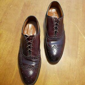 Alden New England Balmoral Cordovan Wingtip Shoes 974 Color # 4 (Size 10.5)