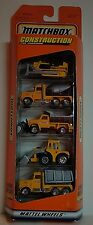1997 RARE Matchbox Exclusive Designs 5 Pack Construction Gift Set New