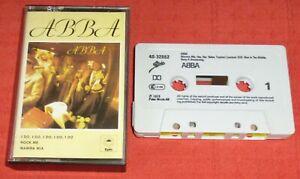 ABBA - UK CASSETTE TAPE - SELF TITLED THIRD ALBUM