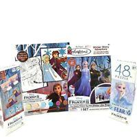 Kids Pack Activity Kit Frozen 48 Piece Jigsaw puzzle Paint Pack & Memory Game