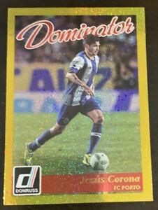 2016-17 Panini Donruss Dominator Jesus Corona #40 GOLD FC Porto