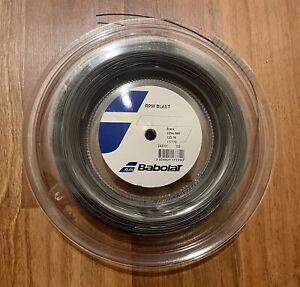 Babolat RPM Blast 18 g Reel (1.20mm Tennis String 120) Full 200m 660ft Brand New