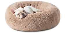 Bedsure Calming Dog Bed for Small Dogs - Donut Washable Small Pet Bed, 23 inches