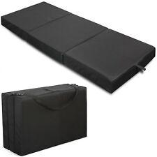 Tri-Fold Sleeping Mattress Guest Camping Pad Cot Outdoor Sleep Cushion Bed Home