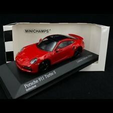 Porsche 911 Turbo S Type 992 2020 Rouge Indien 1/43 Minichamps 413069479 - Editi
