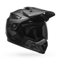 Bell Powersports MX-9 MIPS Equipped Blackout Helmet Size L Gloss Black