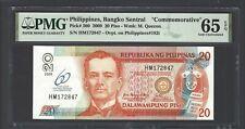 Philippines 20 Piso 2009  P200 Commemorative Uncirculated Grade 65