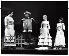 "Rodgers & Hammerstein ""OKLAHOMA!"" Jules Munshin / Karen Morrow 1965 Press Photo"
