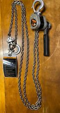 New ListingNew Harrington Lx005-10 Lever Chain Hoist 10ft Of Lift 1/2 Ton