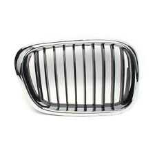 For BMW E39 530I 520I 528I 525I 1996-2003 A Pair ABS + Chrome Front Grille l