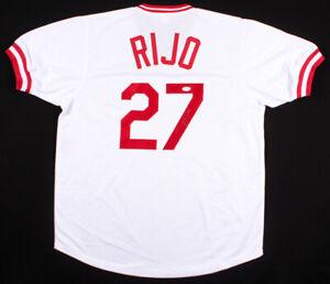 Jose Rijo Signed Reds Jersey (JSA COA) World Series MVP (1990) All Star (1994)