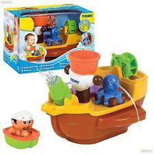 Tomy Aquafun Pirate Bath Time Fun Toy Ship, With Pirate Jake and The Crew!