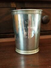 Vintage STERLING SILVER Mint Julep cup