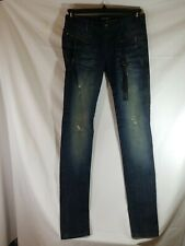 Monarchy Womens Skinny Jeans with Studs Size 27