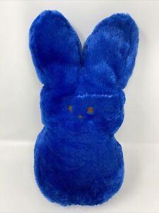 "Fuzzy Blue Marshmallow Peep Bunny Rabbit Plush 17"" - 18"" Easter"