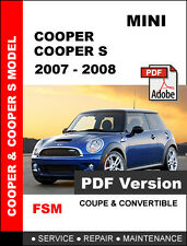 repair manuals literature for mini ebay rh ebay com mini cooper s workshop manual download mini cooper s service manual pdf