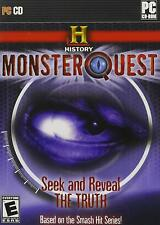 History Channel: Monster Quest PC Game- Brand New & Sealed Fast Ship! DB-42