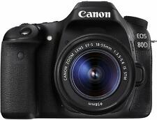 Canon EOS 80D EF-S 18-55mm f/3.5-5.6 IS STM Kit Refurbished