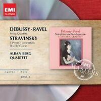 ALBAN BERG QUARTETT - STREICHQUARTETTE DEBUSSY RAVEL STRAVINSKY CD NEW