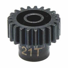 Hot Racing NSG3221 21T Steel 32P Pinion Gear 5mm Bore: Traxxas Summit