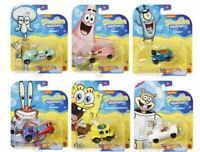 Hot Wheels 2020 1/64 Spongebob Squarepants Character Cars. B3G1 Free!