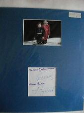 BUKIN & BESTEMIANOVA AUTOGRAPHED MOUNT ICE SKATING