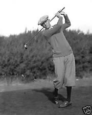 Horton Smith 2x Masters champ swing photo w/ knickers
