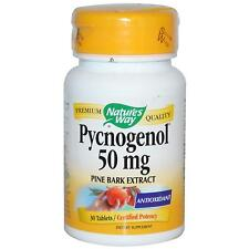 Pycnogenol - 30 - 50mg Tablets by Nature's Way - Maritime Pine Bark Extract