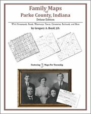 Family Maps Parke County Indiana Genealogy Plat History