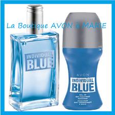 INDIVIDUAL BLUE Eau de toilette + Déodorant à Bille pour homme AVON NEUF
