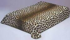 Solaron Korean Blanket throw Thick Acrylic Mink Plush Leopard Korean HeavyWeight
