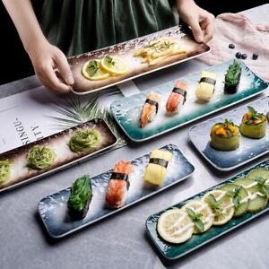 """Dreamland"" Dishes Dinner Plates Sushi Tray Restaurant Dinnerware Tableware Set"