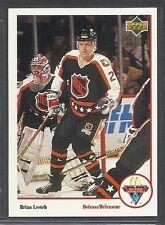 1991-92 Upper Deck McDonald's NHL All-Stars - #12 - Brian Leetch - Rangers