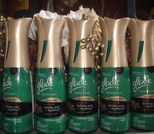 5 Glade Expressions Holiday Pine Bayberry Air Freshener Mist Spray