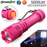 New 5000LM  Q5 AA/14500 LED 3 Modes ZOOMABLE Focus Flashlight Torch Light US