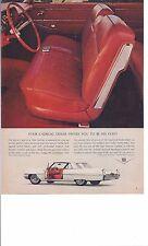 """1964 Cadillac 2 door-8.25"""" x 11""""-Original Print Ad"""