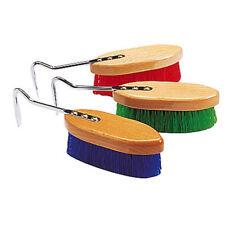 Nylonbürste mit Hufkratzer In rot grün oder blau
