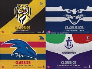 AFL Classics DVD YOU CHOOSE TEAM AUSTRALIAN FOOTBALL SPORT GIFT BOX BRAND NEW R4