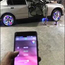 LED Wheel Lights Kit 4 Wheels Moving Color via App Wireless for BMW 1 2 3 Series