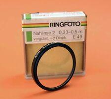 Nahlinse +1  49 mm Close- Up +1  49 mm 00087