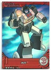 2013 Breygent Transformers Optimum Collection G1 Foil Cards TF6 Jazz