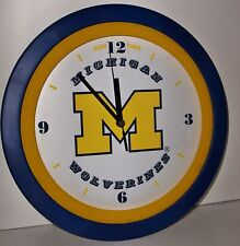 Sun Time – Michigan Wolverines Wall Clock! New in Package!