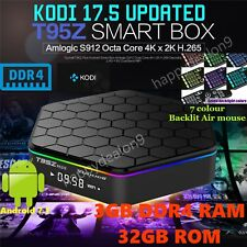 T95Z PLUS TV BOX DDR4 3GB 32GB  Android 7.1 Octa Core KODI 18 4K Media Player