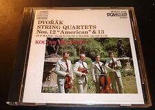 """KOCIAN QUARTET """"Dvorak String Quartets No.12 American & 13"""" (CD 1984) EXCELLENT"""