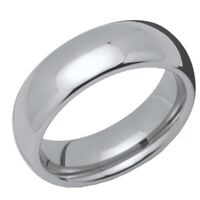 New Tungsten Carbide 7mm Court Band Wedding Ring Jewellery Size X