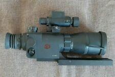 visore notturno con aggancio per fucile da caccia specifico per carabine rigate
